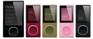 The New Zune, Not a Bad Looking Machine